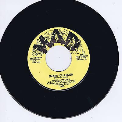 MAD MAN JONES - SNAKE CHARMER / YEAH (Hot Titty Shakin' Exotica Rhythm & Blues)