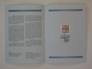 (98j11) Bund Erinnerungsblatt 1998 mit ESST Mi.Nr. 1981 Hildegard von Bingen