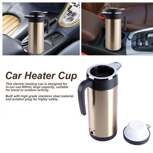 800ml-12V-Stainless-Steel-Car-Electric-Heated-Water-Kettle-Steel-Bottle-Cup-MF