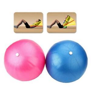 25cm-Exercise-Pilates-Balance-Yoga-Fitness-Ball-Aerobic-Abdominal-Birth-lot-S