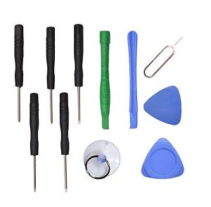 11 In1 Repair Opening Pry Tools Screwdriver Kit Set for Mobile Phone iPhone US