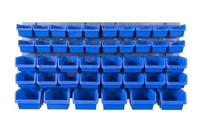 Stapelboxen 44 Tlg Set Werkzeugwand Schüttenregal Lagersystem