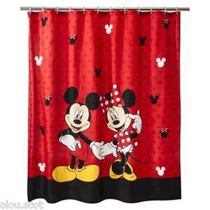 http www ebay com itm mickey and minnie mouse disney fabric shower curtain kids bathroom mickey