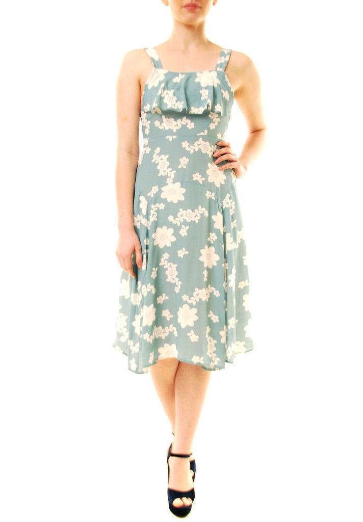 For Love & Lemons Frauen süße Jane Print Schürze Schürze Schürze Kleid Mint  von BCF71 a8e404