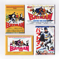 Batman 1966 Movie Poster Magnets Adam West Joker Penguin Riddler Tv Series Print