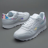 Reebok Unisex Mens Womens CL Leather RD Trainers White sizes 3 -13