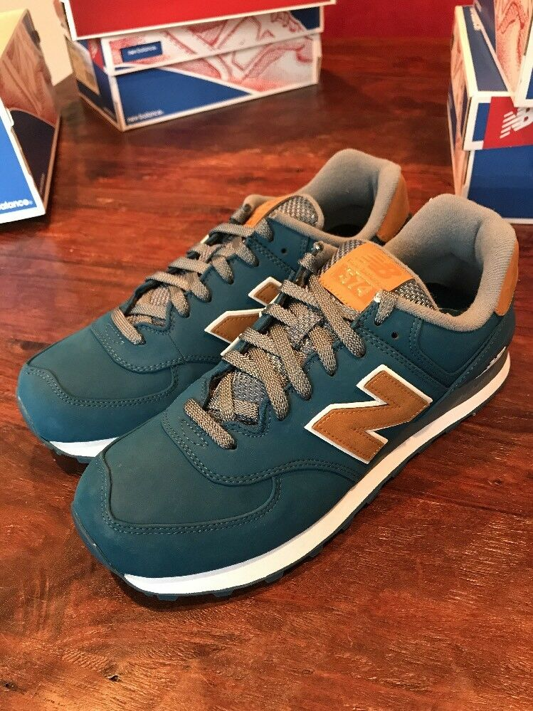 Mens New Balance Shoes Sneakers Trainers New Size 9.5 ML574SLC 574