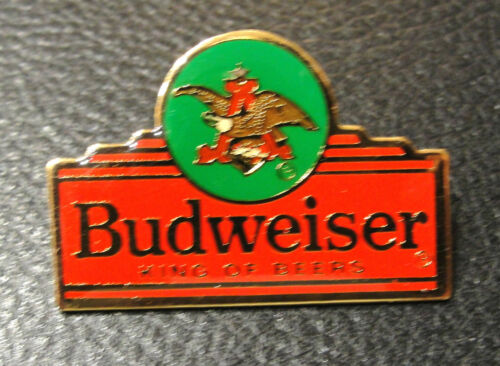 BUDWEISER LABEL KING OF BEERS COLLECTOR PIN Official Anheuser Busch Product