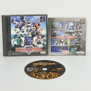 REAL-ROBOTS-FINAL-ATTACK-Gundam-PS1-Playstation-For-JP-System-p1