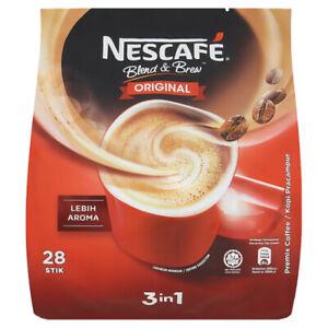 Nescafe 3 in 1 Instant Coffee Sticks Original