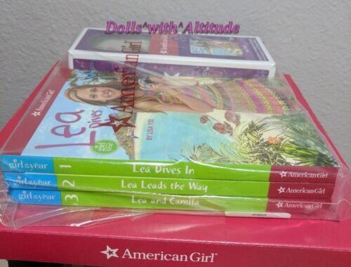 American Girl MINI Lea Doll NEW IN BOX AND 3 Book Set three books