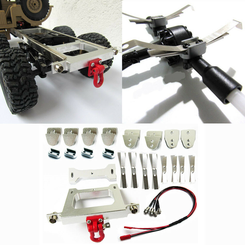 1 16 RC Car Metal Chassis DIY Upgrade Modified Rear Bumper For WPL B14 B24 B16