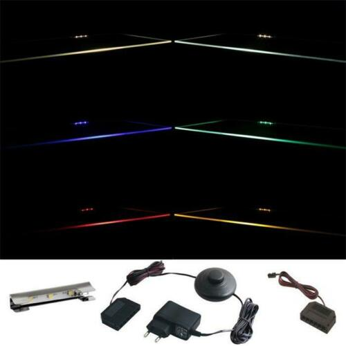Cabinet /& Display Lighting 36 clips LED glass edge lighting 1 ..