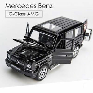 2018-1-32-4-Colors-Benz-G65-AMG-SUV-Diecast-car-toy-model-W-Pull-Back-amp-Flashing