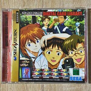 Neon-Genesis-Evangelion-Digital-Card-Library-Sega-Saturn-SS-JAPAN