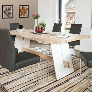 Gut Das Bild Wird Geladen Esstisch Aladin Tisch 200x100 Cm Eiche Bianco Massiv