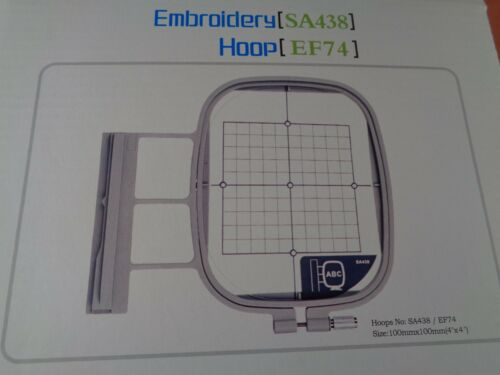 "4/""x4/"" Hoop Brother Duetta Quattro 6000D 6700 Dream Maker Innovis NQ3500D BP2100"