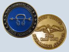 Submarine Rate ST Sonar Technician Insignia Commemorative Coin