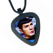 Star Trek Spock TOS Pickbandz Mens or Womens Real Guitar Pick Necklace