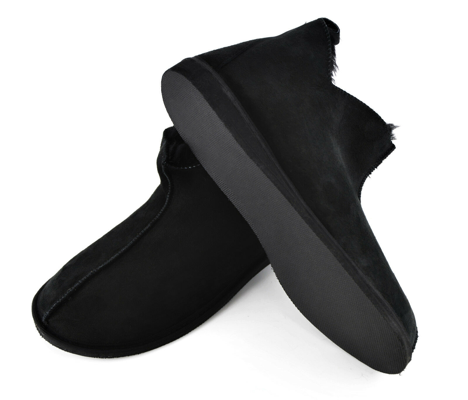 Sheepskin Moccasin Slippers - Lambskin House Schuhes Moccasin Sheepskin with sole,100% ECO - UNISEX e2f4ff