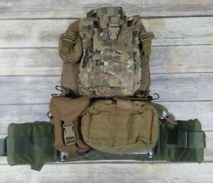 Details about Tactical Med Solutions MOLLE Ruck Wall Panel w/ High Ground  PRC 117 Pouch + More