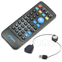 USB Laptop PC Wireless Keyboard Mouse Remote Control Media Center Controller