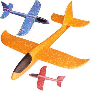 Regalo-juguete-ninos-avion-de-lanzamiento-mano-espuma-planeador-al-aire-libre