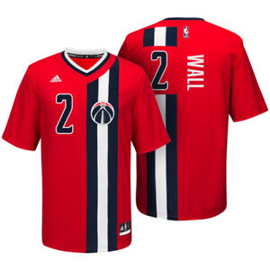 meet 40e04 e03c4 Details about Wizards JOHN WALL Pride Jersey S NWT NEW Adidas Washington  Throwback Replica