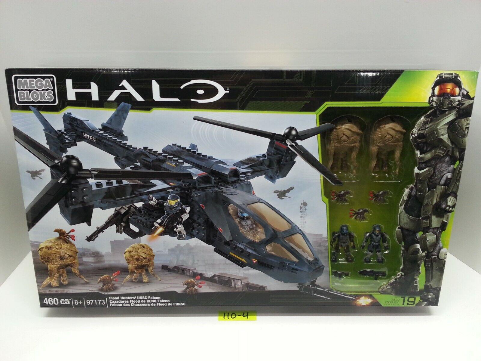 Halo Mega Bloks 97173-inundaciones cazadores Unsc Falcon-Nuevo Y Sellado De Fábrica