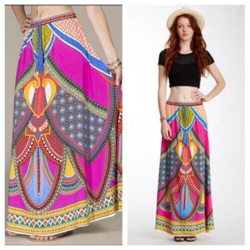 Flying tomato long FLOWING skirt Hippie Pink medium hippie boho Bollywood Tribal