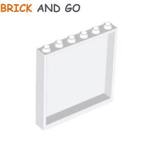 LEGO White 1x6x5 Wall Panel Piece Creator Classic