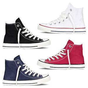 Scarpe-Da-Ginnastica-Uomo-Donna-Sneakers-Alte-Casual-Comode-Vari-Colori
