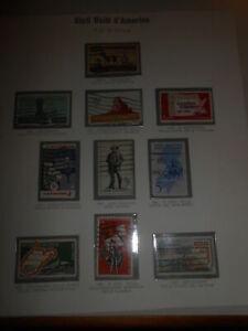 Francobolli-stamps-5-THE-50-STARS-FILATELIA-UNITED-STATES-AMERICA-PHILATELY