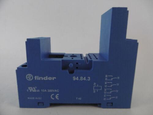 Finder zócalo tipo 94.84.3sxa sxa 10a 300vac zócalo para relés relés versión nuevo