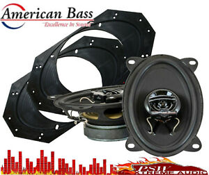 "American Bass SYMPHONY4X6 Symphony 4X6/"" Two Way Speaker"
