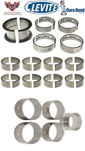 CLEVITE-DURABOND-CHEVY-SBC-265-283-327-ROD-AND-MAIN-BEARINGS-WITH-CAM-BEARINGS