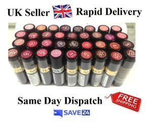 RRP-7-99-Cheap-Revlon-Super-Lustrous-Lipstick-Sealed-4-2g-52-shades
