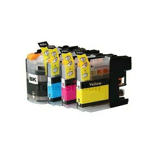 4x Ink Cartridge with CHIP For BROTHER  LC137XL LC135XL MFC-J4410DW MFC-J4510DW