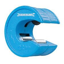 Silverline Quick Pipe Slice Cutter Set 3 Pc 15mm 22mm 28mm Cut Copper Plumbing