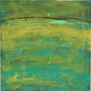 """Original Abstract Art 12"""" x 12"""" Signed Acrylic Painting on Canvas"""