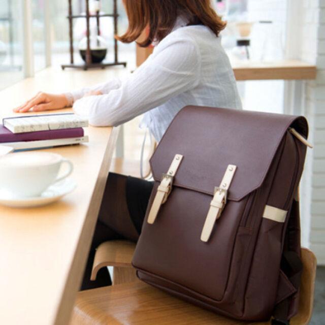 2016 Da Uomo Donna Borsa Per I Libri Laptop Bag Zaino Scuola A Cartella Viaggio