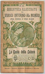 1900-LA-COSTA-DELLA-GUINEA-Viaggi-intorno-al-mondo-Roberto-Brown-illustrato