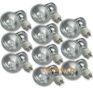 10er-Set-Halogen-Leuchtmittel-Strahler-Lampe-230V-GU10-PAR16-Dimmbar