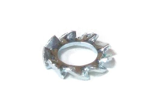 10x DIN6798 M3 External Tooth Serrated Lock Washer Fächerscheibe Zahnscheibe