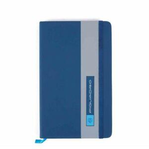 PIQUADRO quaderno a righe, formato A5 PQ-Bios blu