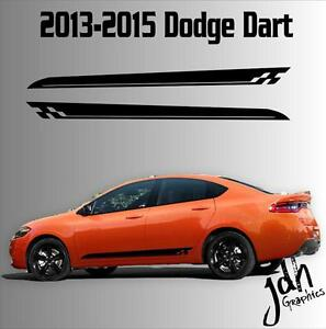 2013 2015 dodge dart rocker racing stripe vinyl decal. Black Bedroom Furniture Sets. Home Design Ideas