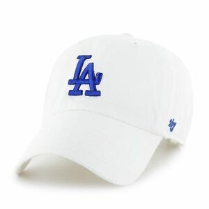 promo code 5f033 e5c80 Image is loading Los-Angeles-Dodgers-47-Brand-White-Blue-Clean-