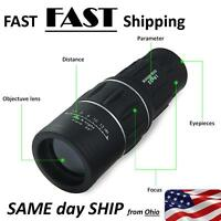 Black Spotting Scope With Case - Fast Ship