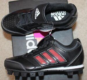 0d9d24d48fa New! Boys Girls Adidas Change Up MD 2 Baseball Cleats (Black) - Size ...