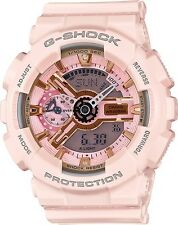 Brand New Casio G-Shock GMAS110MP-4A1 S-Series Pink/Gold Ana-Digi Watch NWT!!!